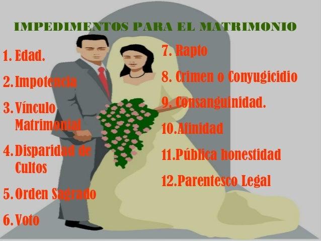 Matrimonio Catolico Disparidad De Culto : Presentación sobre aspectos jurídicos del matrimonio