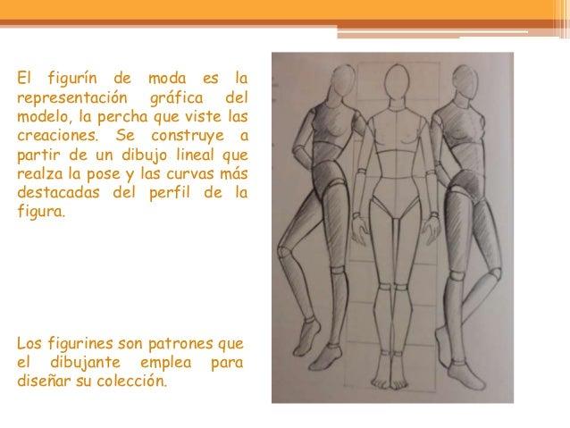 El figurín de moda es larepresentación gráfica delmodelo, la percha que viste lascreaciones. Se construye apartir de un di...