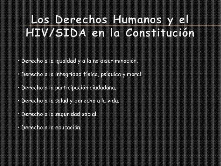 Presentación sobre el hiv