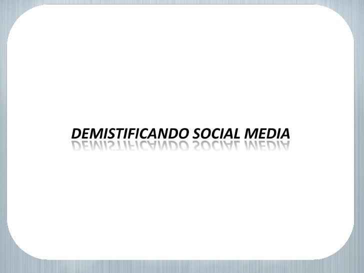 Social Media 2010  -  SolucionesWeb.la Slide 1