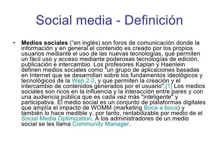 Social Media 2010  -  SolucionesWeb.la Slide 2