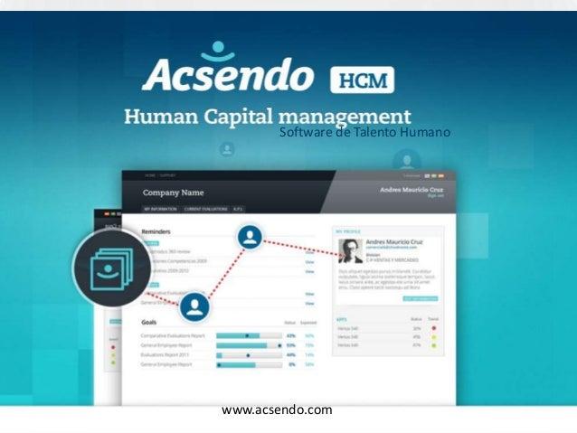 Software de Talento Humanowww.acsendo.com