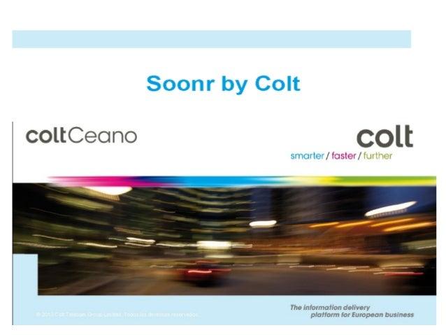 SoonR by Colt - Compartir y Sincronizar ficheros desde la nube.