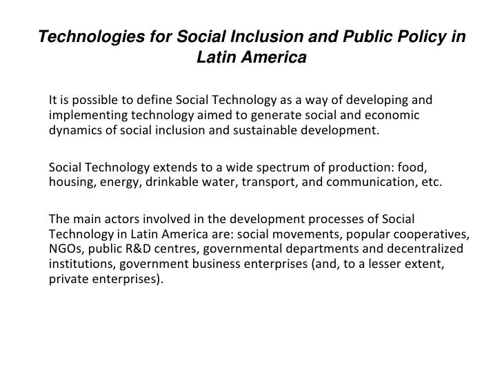 social polarization in latin america and This web site includes statistics on poverty and other distributional and social variables from 25 latin american and caribbean (lac) countries all statistics.