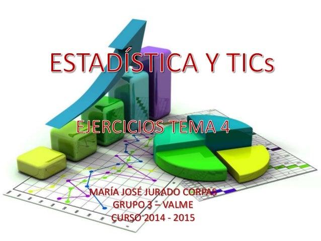 MARÍA JOSÉ JURADO CORPAS GRUPO 3 – VALME CURSO 2014 - 2015