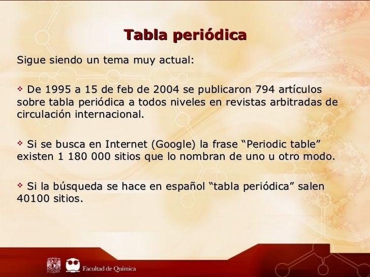Presentacin tabla peridica tabla peridicasigue urtaz Image collections