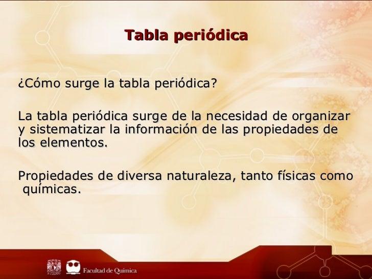 Presentacin tabla peridica tabla peridicacmo urtaz Image collections