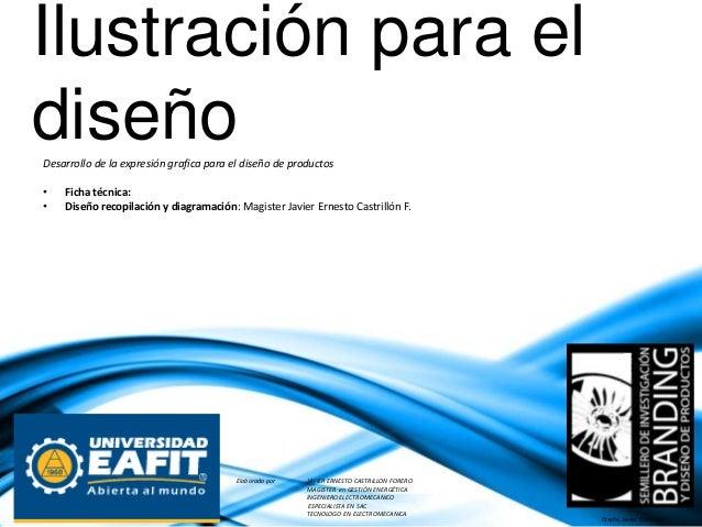 Ilustración para el diseñoDesarrollo de la expresión grafica para el diseño de productos NELCY SUÁREZ LANDAZÁBAL Profesora...