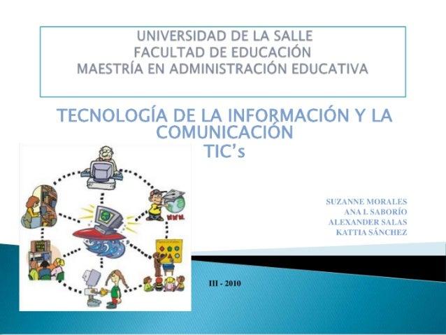 Presentación tarea 1. informática