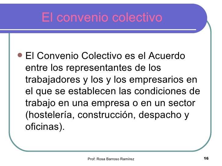 Ud 1 el derecho laboral y las relaciones laborales for Convenio colectivo oficinas y despachos pontevedra