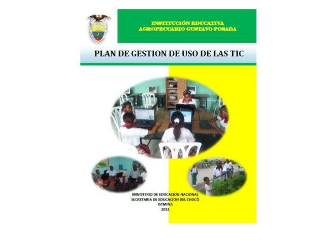 """PRESENTACIONDe acuerdo con la Ley de TIC en Colombia """"Las Tecnologías de la Información y las Comunicaciones son el conjun..."""