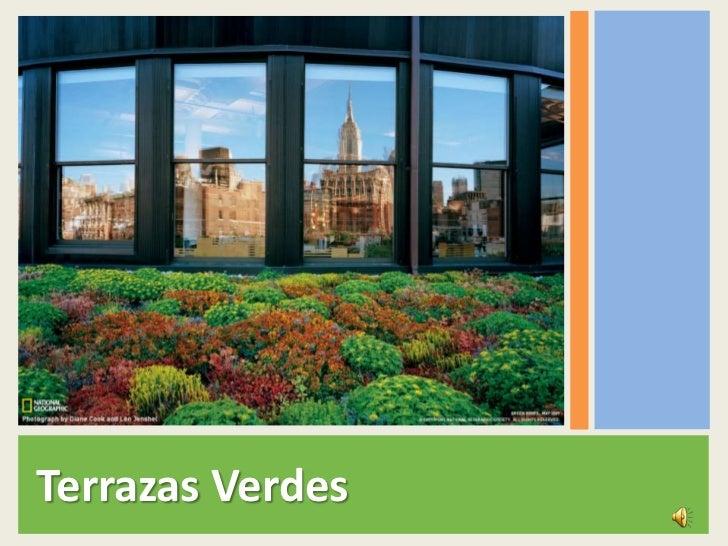 Presentación Terrazas Verdes