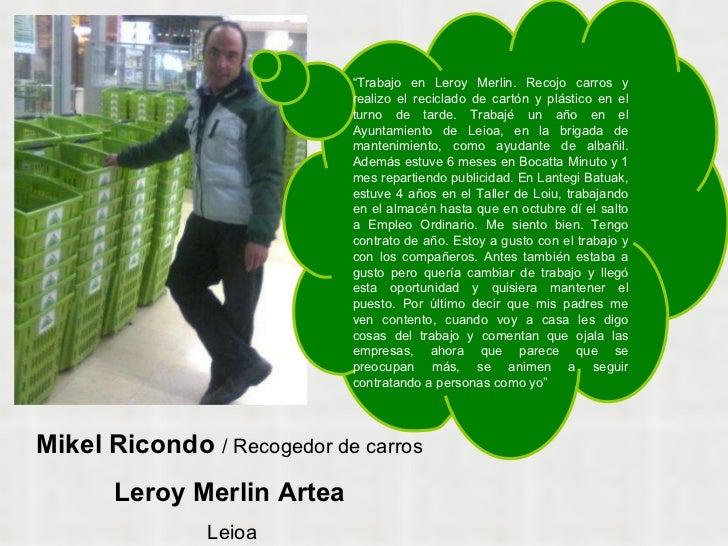 2010ko inserzioak - Leroy merlin leioa ...