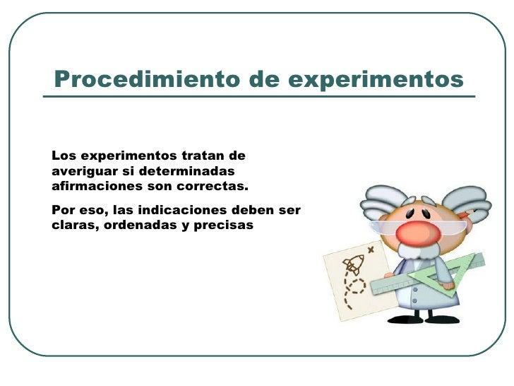 Presentaci n texto instructivo for Procedimiento de cocina