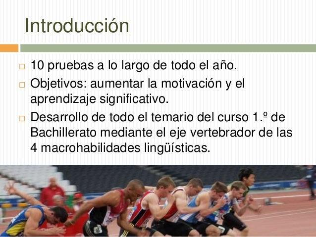 Decatlón de Lengua y Literatura. Un proyecto educativo innovador para bachillerato Slide 2