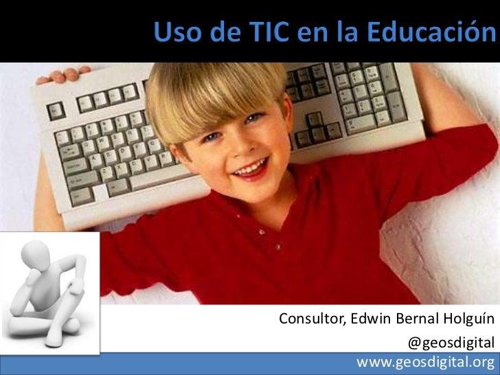 Presentación redes sociales en la educación