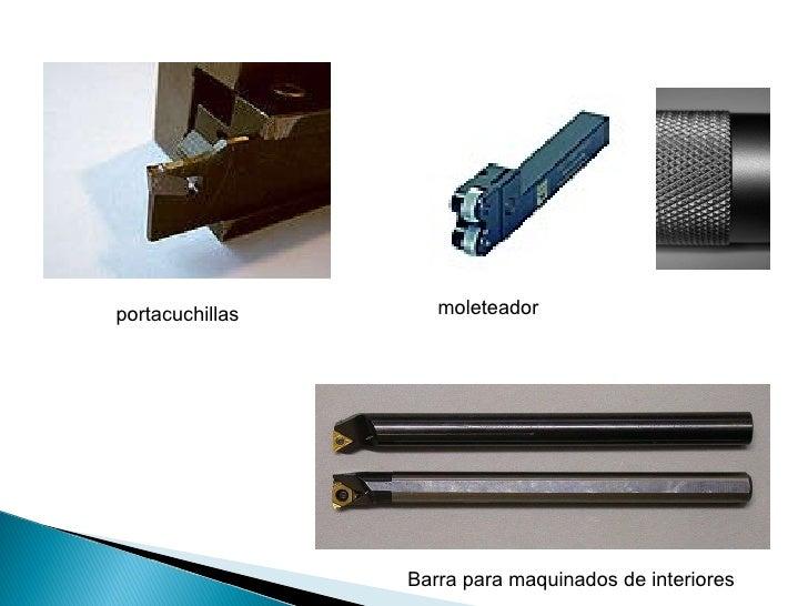 portacuchillas Barra para maquinados de interiores moleteador