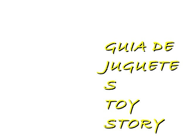 GUIA DEJUGUETESTOYSTORY