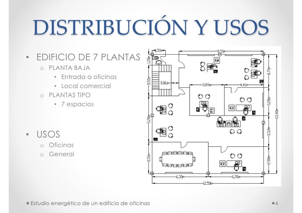 Cargas t rmicas en un bloque de oficinas for Distribucion de oficinas en una empresa
