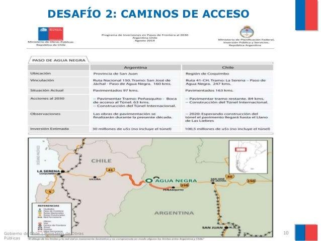 Ministerio de obras p blicas de chile tunel internacional for Ministerio de inter