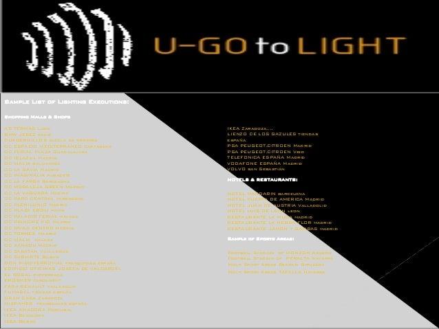 Presentaci 243 N U Go To Light 2015 P Point En