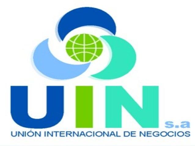 • Unión Internacional de Negocios S.A es una organización diseñada y constituida con el propósito de ofrecer soluciones re...