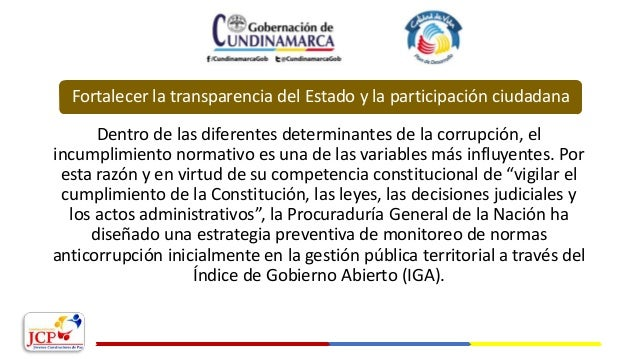 Dentro de las diferentes determinantes de la corrupción, el incumplimiento normativo es una de las variables más influyent...