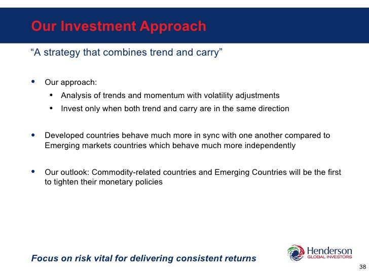 Our Investment Approach Focus on risk vital for delivering consistent returns <ul><li>Our approach: </li></ul><ul><ul><li>...