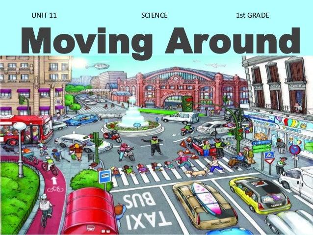 Moving Around UNIT 11 SCIENCE 1st GRADE