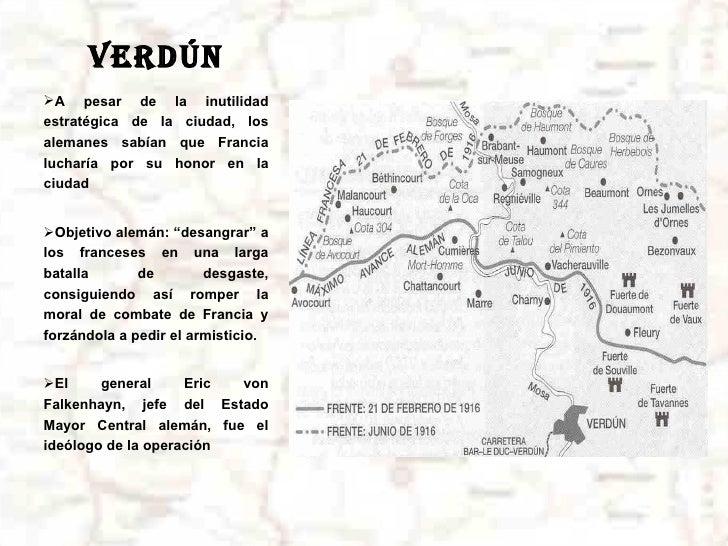 Batalla De Verdun Mapa.La Batalla De Verdun