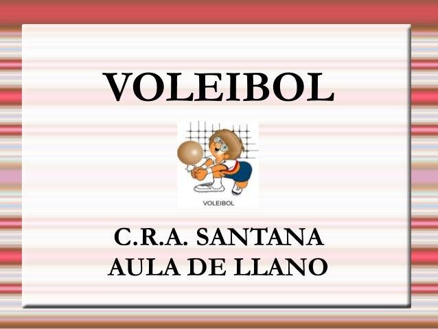VOLEIBOLC.R.A. SANTANAAULA DE LLANO