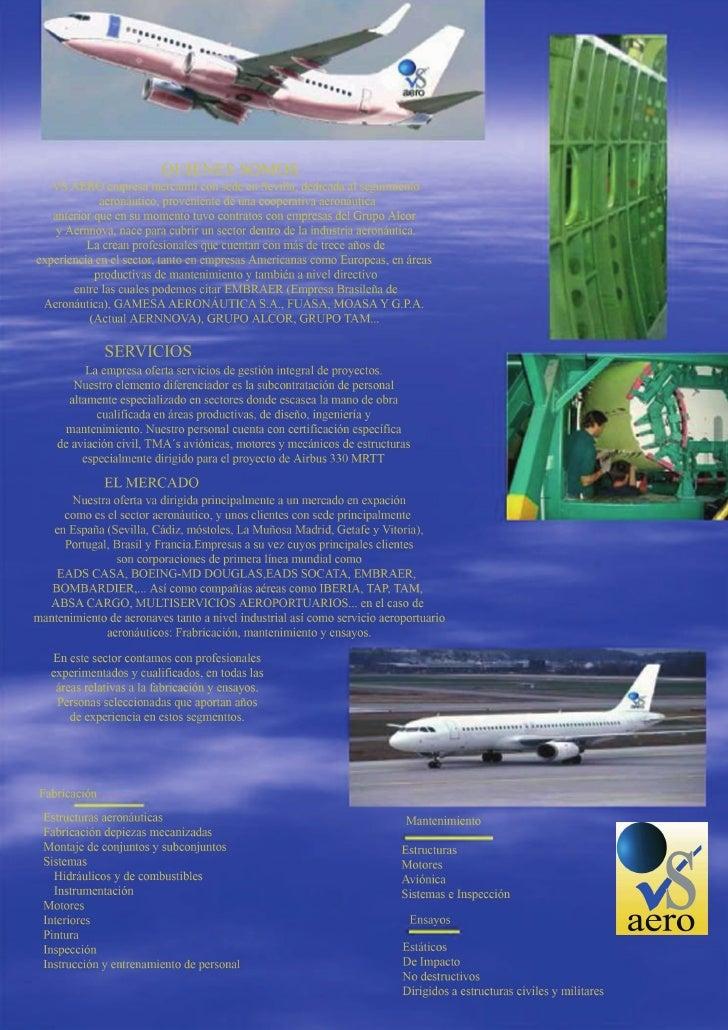 Presentación VS AERO S.L Ultima