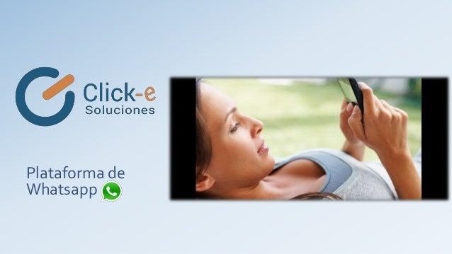 Plataforma de Whatsapp