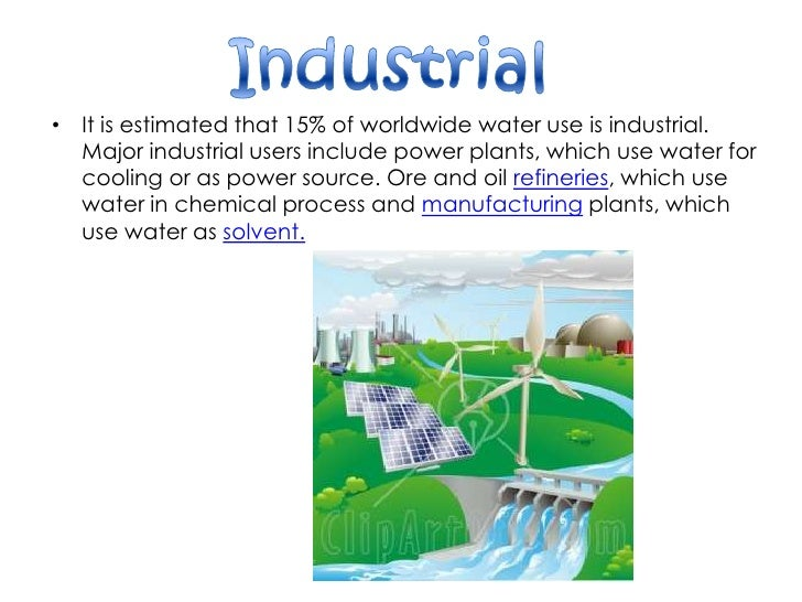 essay on how industries are polluting our water resources How are industries polluting water resources industry is a huge source of water pollution, it produces pollutants that are extremely many industrial facilities use freshwater tocarry away waste from the plant and into rivers, lakes and oceans  pollutants from industrial sources include.