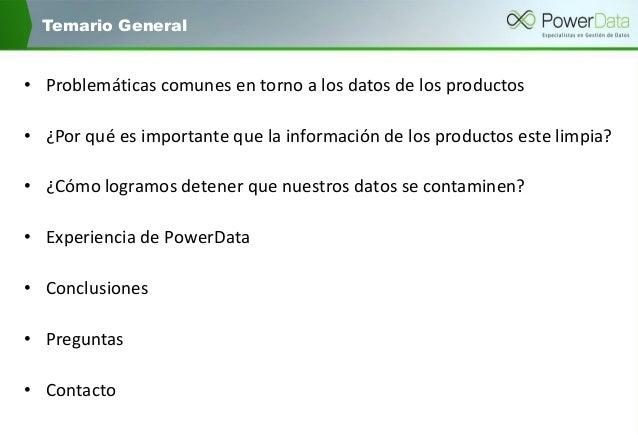 Mejora la calidad de los datos de producto y lleva a tu negocio al siguiente nivel Slide 3