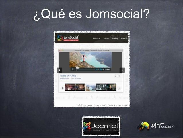 ¿Qué es Jomsocial?