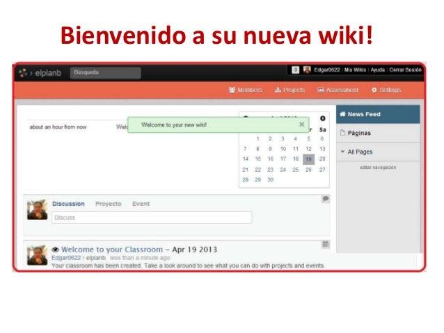 Bienvenido a su nueva wiki!