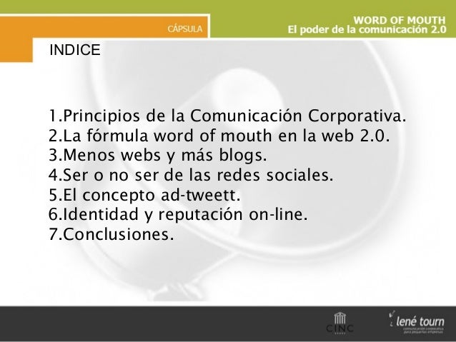 Presentación Wom Slide 2