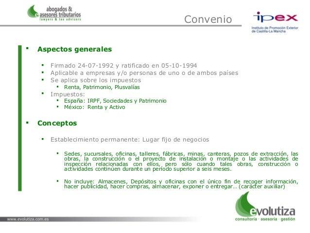Convenio para evitar la doble imposici n espa a m jico - Convenio de oficinas y despachos madrid ...