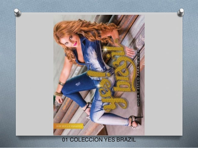 01 COLECCION YES BRAZIL