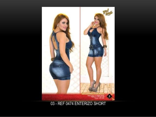 03 - REF 0474 ENTERIZO SHORT