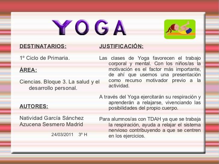 Presentación yoga 3ºh Slide 2