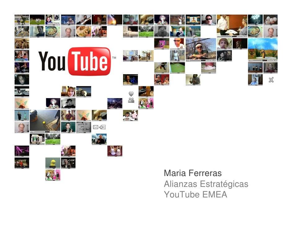 Maria Ferreras Alianzas Estratégicas YouTube EMEA