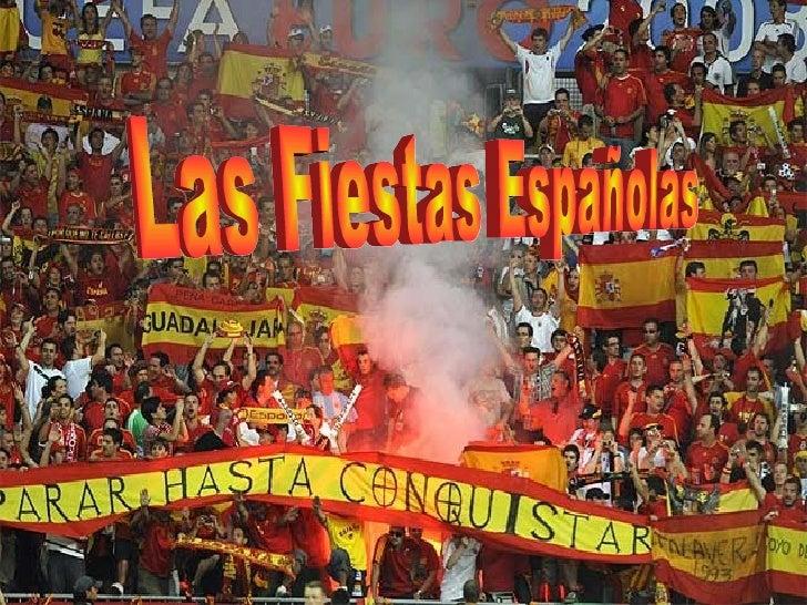 Las Fiestas Españolas