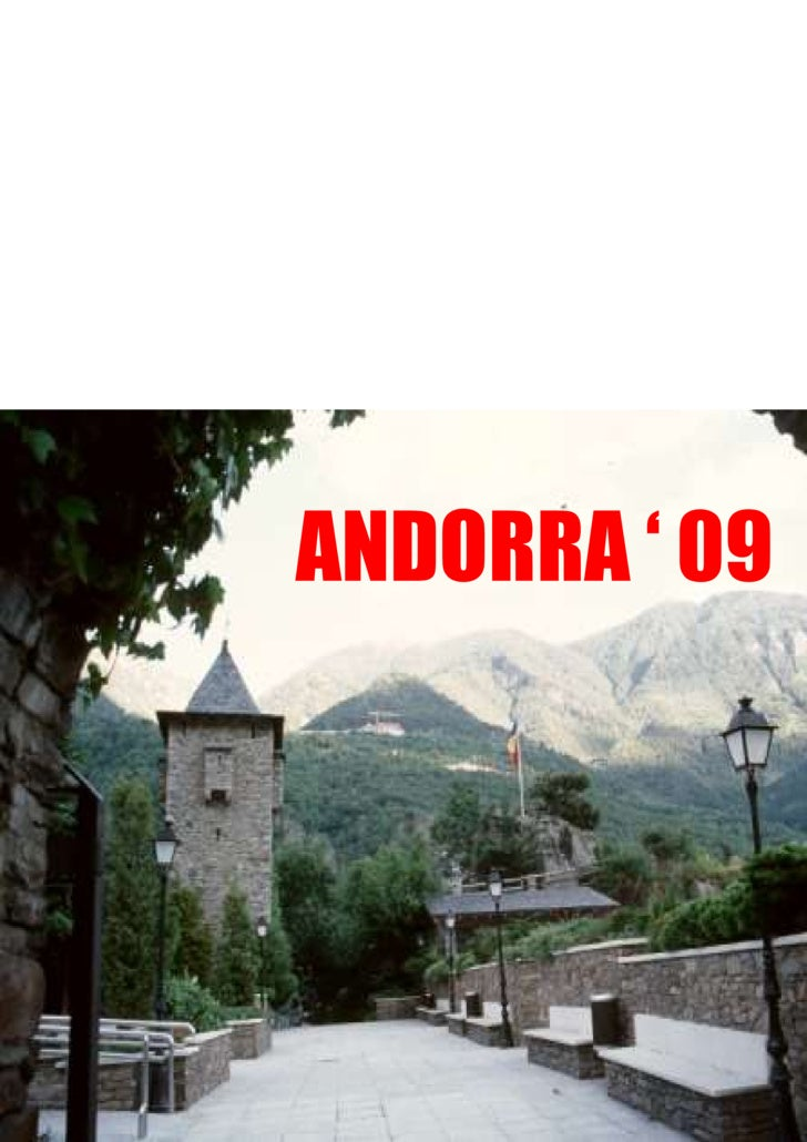 ANDORRA ' 09