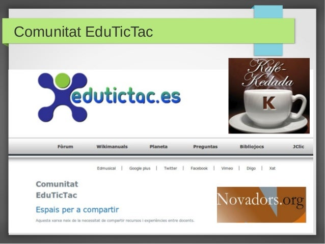 Comunitat EduTicTac