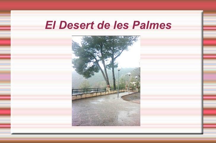 El Desert de les Palmes