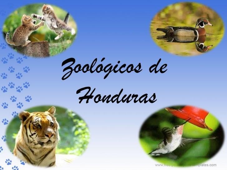 Zoológicos de Honduras