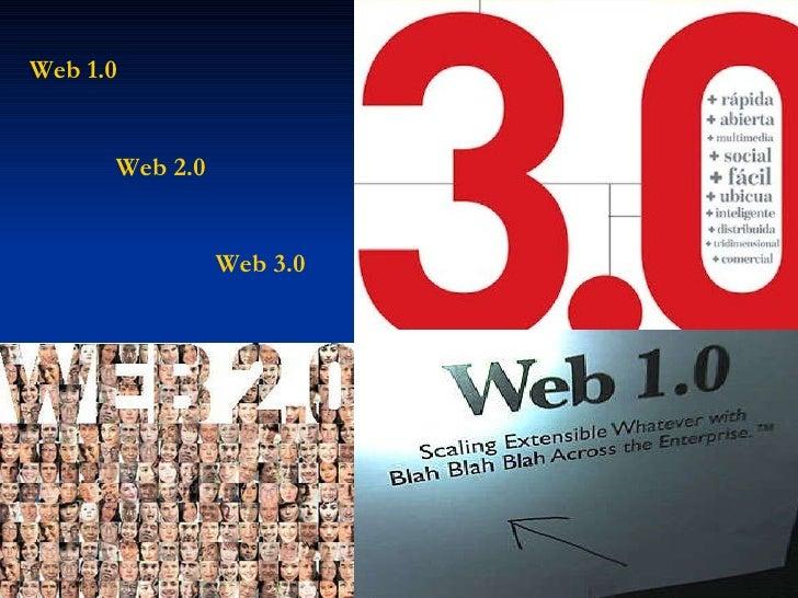 Web 1.0 Web 2.0 Web 3.0