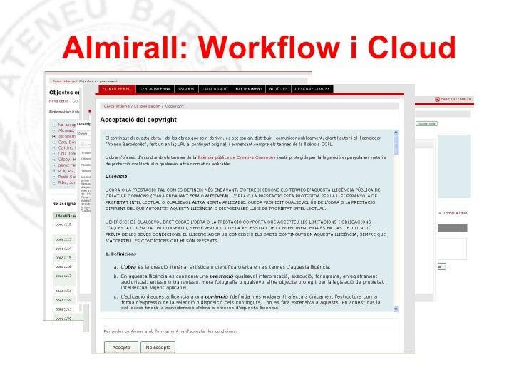 Almirall: Workflow i Cloud